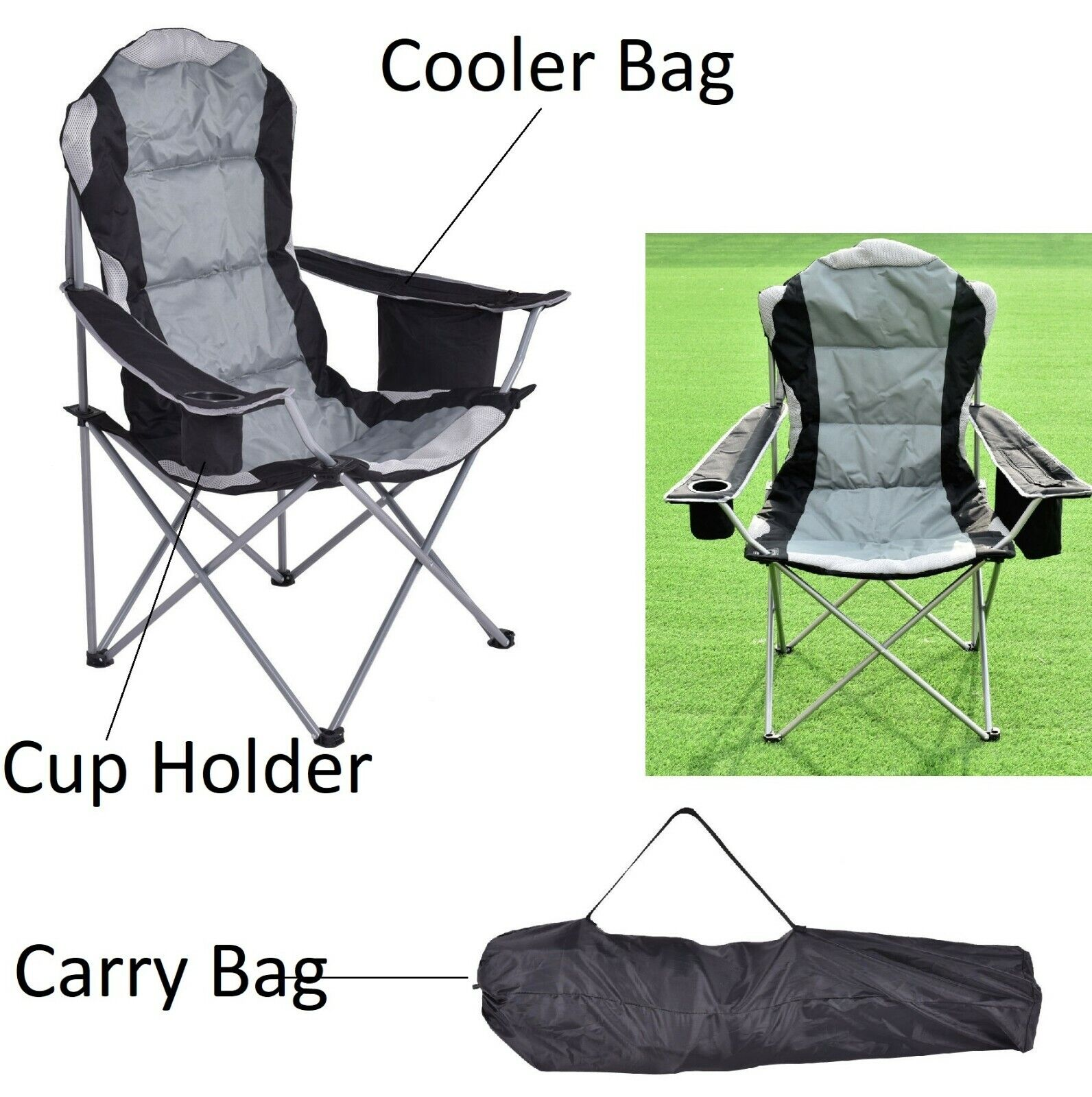 folding camping chair lightweight portable chairs