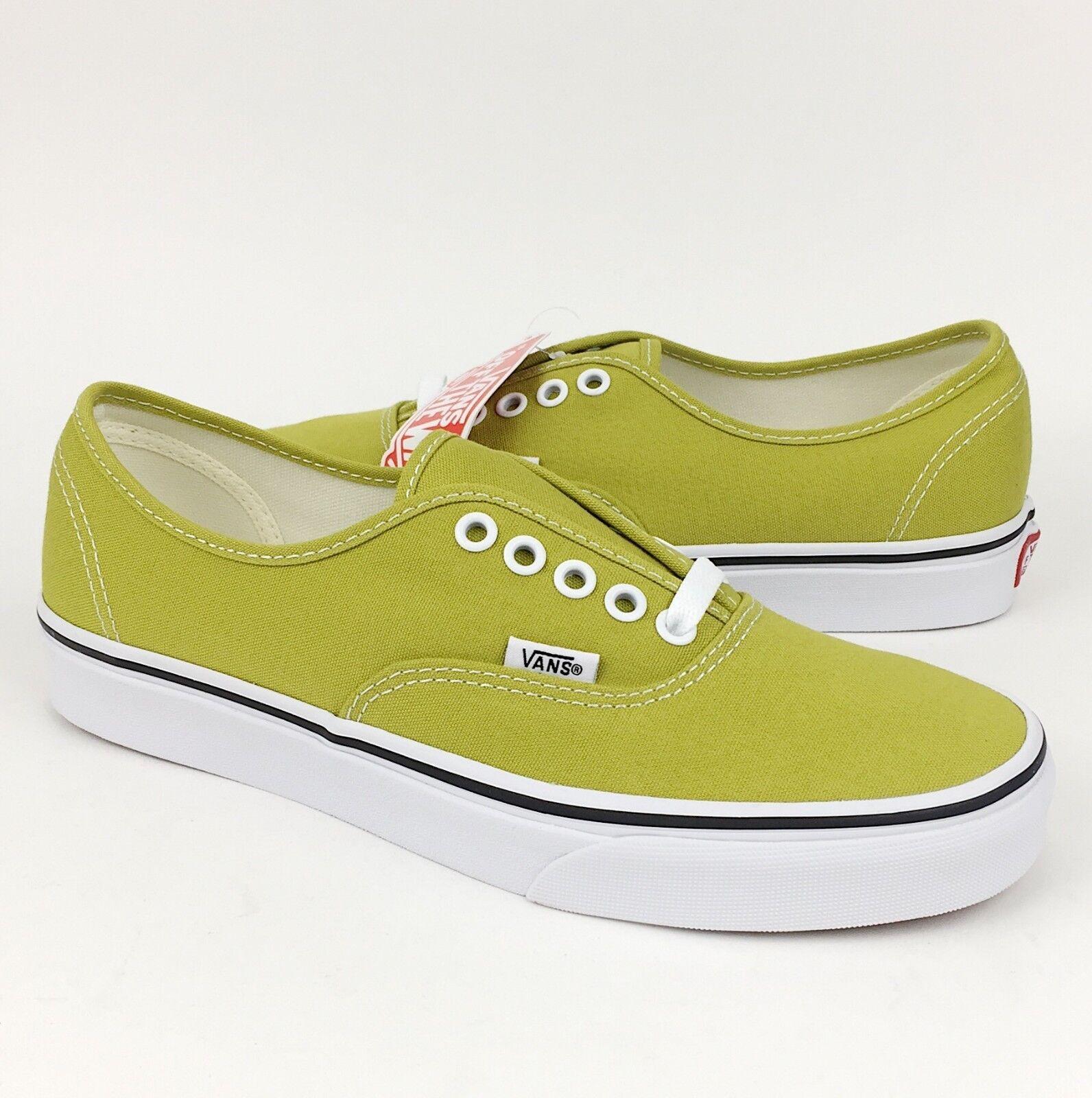 72c8d653e60a Vans New Vans Authentic Canvas Skate Shoe Cress Green True White  Skateboarding