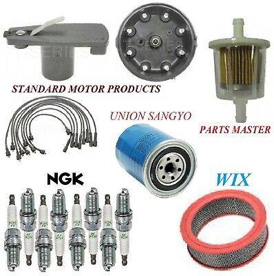 71 Dodge W200 Pickup (Tune Up Kit Filters Cap Plugs For DODGE W200 PICKUP V8 5.2L; Exc cartridge 71-72 )
