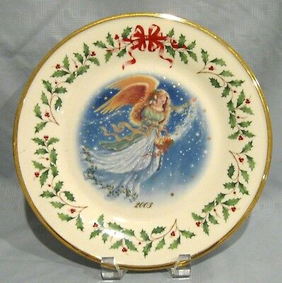 Lenox 2003 Holiday Collectors Plate
