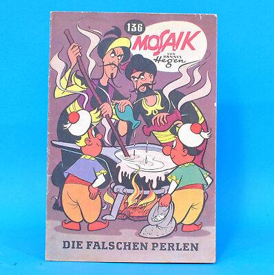 Mosaik 136 Digedags Hannes Hegen Originalheft DDR Sammlung original MZ 4