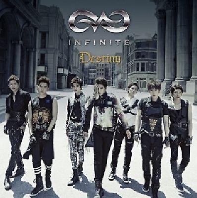 K-POP INFINITE 2nd Single Album [Destiny] CD + Postcard Sealed Music CD