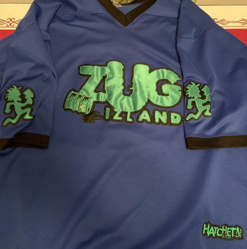 3XL ZUG IZLAND FOOTBALL JERSEY HATCHETMAN PSYCHOPATHIC ICP