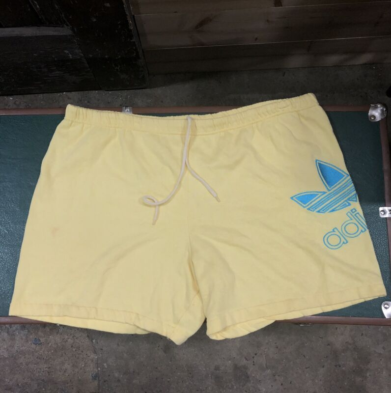 Vintage ADIDAS Trefoil Terry Cloth Shorts