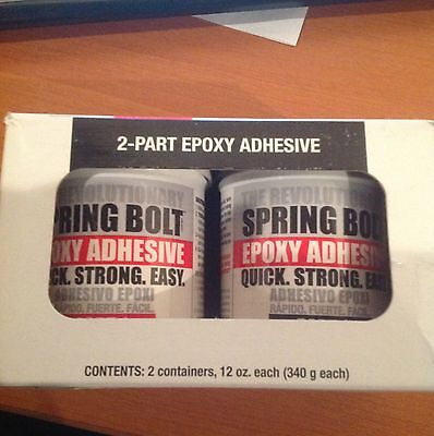 Surewood-lnl 2-part Spring Bolt Epoxy Adhesive Industrial Brand New Free Ship
