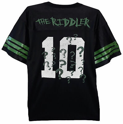 DC Comics The Riddler Football Jersey - Officially Licensed Gift (Dc Comics Gifts)