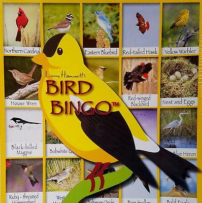 - Bird Bingo Board Game Educational by Lucy Hammett Games - NEW SEALED