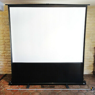 Da-lite 87063 Deluxe Insta-theater Portable Projection Screen 60x80 100d Ntsc
