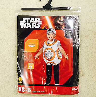 NEW Star Wars BB-8 Toddler Halloween Costume for 2-3 years old - 2T 3T - Halloween Costumes For Toddlers
