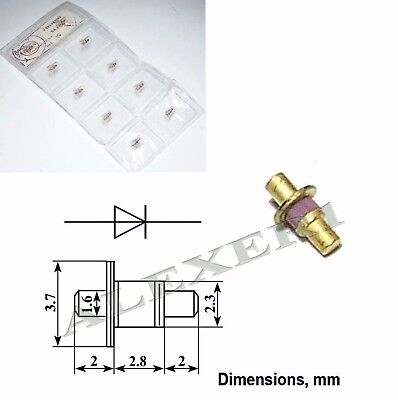 Gunn Oscillator Gaas Diode 3a716g Ussr 20...22ghz 320mw 3a716g