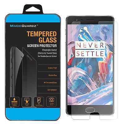 Premium Tempered Glass Screen Protector Guard for Oneplus 3 Three - 3 Screen Protector Guard