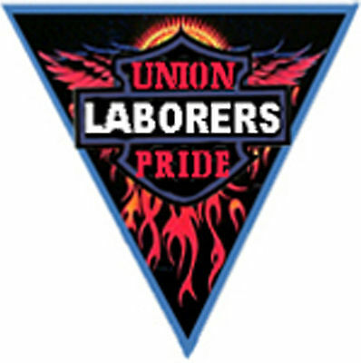 Union Pride Laborer Sticker Cl2a