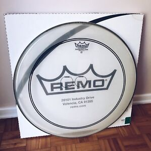 Remo 22 Inch Powerstroke 3 Clear Batter Bass Drum Head