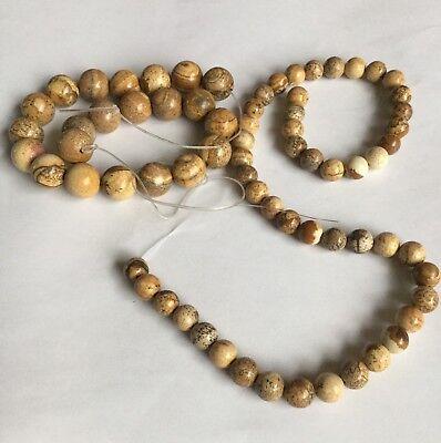 Jasper Round Beads 8 mm & 12 mm