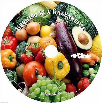 Greenhouse Gardening cd Vegetables Fruit Flower Plant Indoor Raised Bed Pots