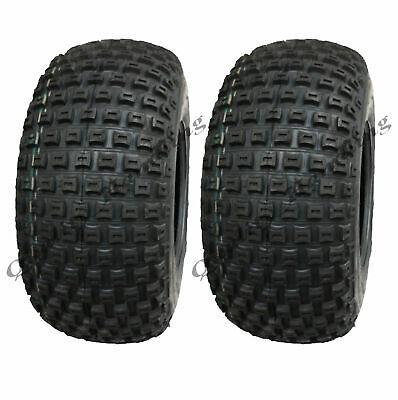 18x9.50-8 Knobby ATV tyres, ATV Quad trailer tyre, P322, 18 950 8 tires set of 2