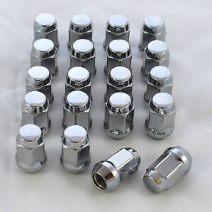 CHROME-WHEEL-NUTS-1-2-FORD-XD-XE-XF-EA-EB-ED-EF-NEW