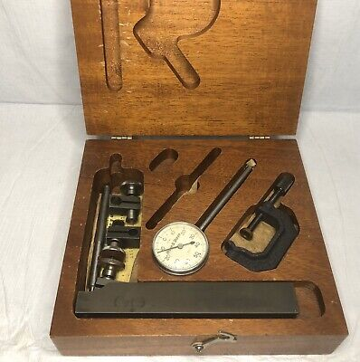 Vintage Brown Sharpe 7040 Dial Indicator Box Machinists
