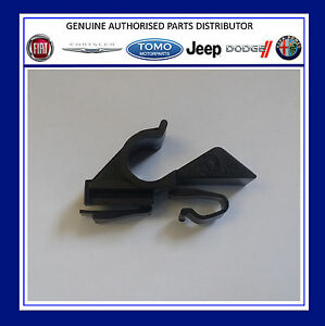 Pair of Genuine Fiat Abarth rear parcel shelf clips for the Grande Punto & Evo