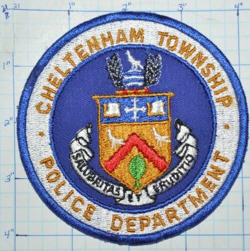 PENNSYLVANIA, CHELTENHAM TOWNSHIP POLICE DEPT VINTAGE PATCH