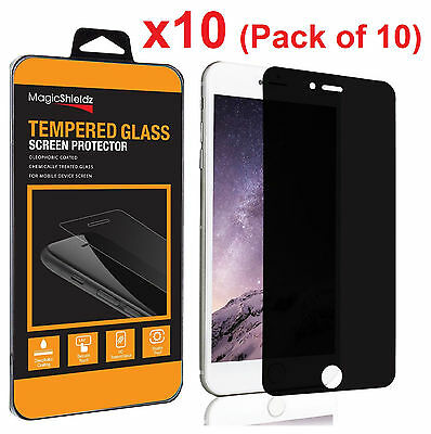 10X Privacy Anti-Spy Tempered Glass Screen Protector for iPhone 6 Plus Wholesale
