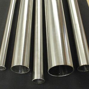 STAINLESS STEEL TUBING 1  O.D. X 36 INCH LENGTH X 1/16  WALL TUBE PIPE TB25-36 & 1