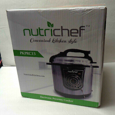 NutriChef PKPRC15 Electronic Pressure Cooker! NEW!