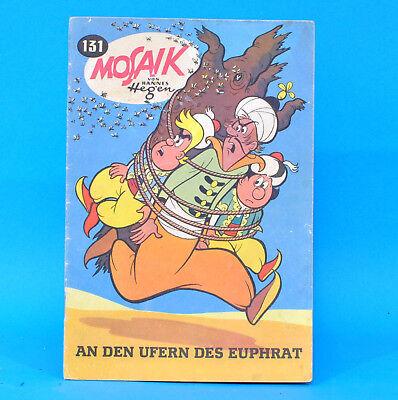Mosaik 131 Digedags Hannes Hegen Originalheft DDR Sammlung original MZ 3