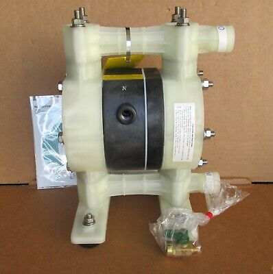 Yamada 12 Air Diaphragm Pump Polypropylene Body W Santoprene Ndp-15bps New