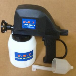 New electric airless air less paint gun sprayer house for Air or airless paint sprayer