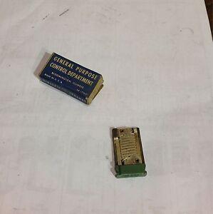 Ge manual starter heater cr123 h120a ebay for Ge manual motor starter
