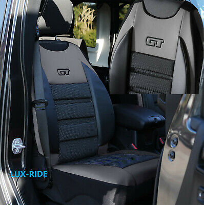 Car seat covers fit Opel Astra H XR black//dark grey sport style