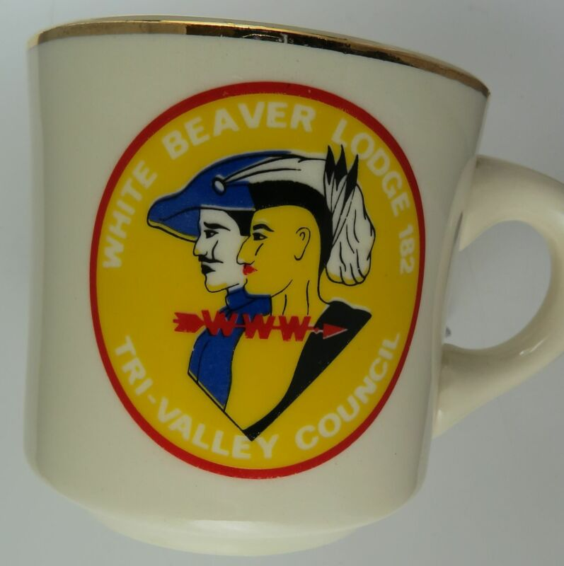 White Beaver Lodge 182 WWW Tri-Valley Council Mug [MUG-410]