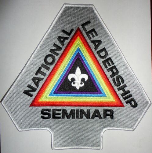 Order of the Arrow National Leadership Seminar Jacket Patch OA NLS