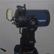 Meade LX 90 8 inch telescope and night viewing camera setup. Yorkeys Knob Cairns City Preview