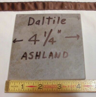 Discontinued *Grayest * Daltile Ceramic Floor/Wall Tile  4-1/4