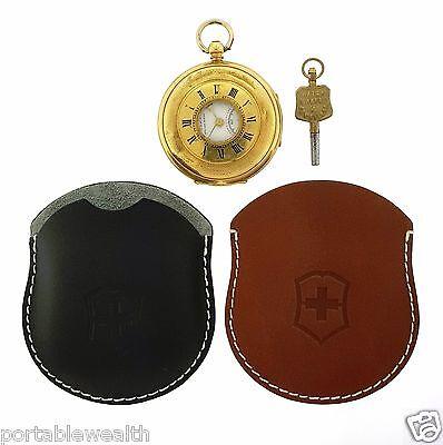Swiss Army Pocket Watch by West End Watch Co.18k Yellow Gold Key Wind  Army Gold Pocket Watch