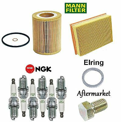 Tune Up Kit Air Oil Filters Spark Plugs Gasket for BMW X3 E83 2004-2005