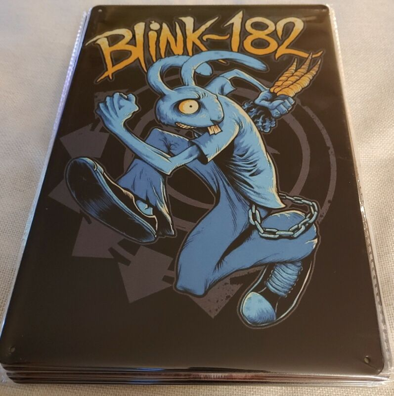 *NEW DESIGN* BLINK 182 Rock Band..... Poster Style Wall Sign