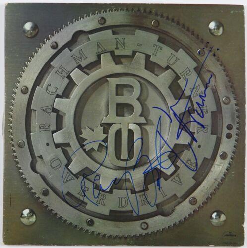 BTO  Signed Autograph Album JSA Record Vinyl Randy Bachman Fred Turner
