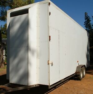 H.F.U. Engineering Custom Enclosed Trailer Welshpool Canning Area Preview