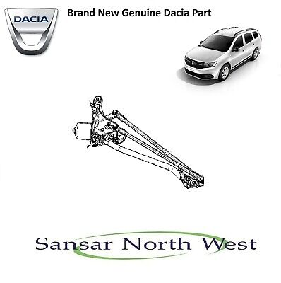 Brand New Genuine - Dacia Logan MCV Front Wiper Motor & Mechanism Linkages