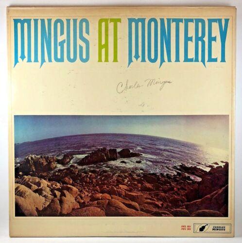 Mingus at Monterey SIGNED & NUMBERED Private Pressing JAZZ WORKSHOP 2LP 1964