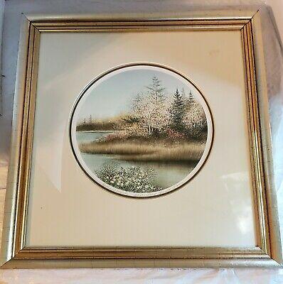 FRAMED Arnold Alaniz Autumn Majesty Artist's Proof Original Lithograph