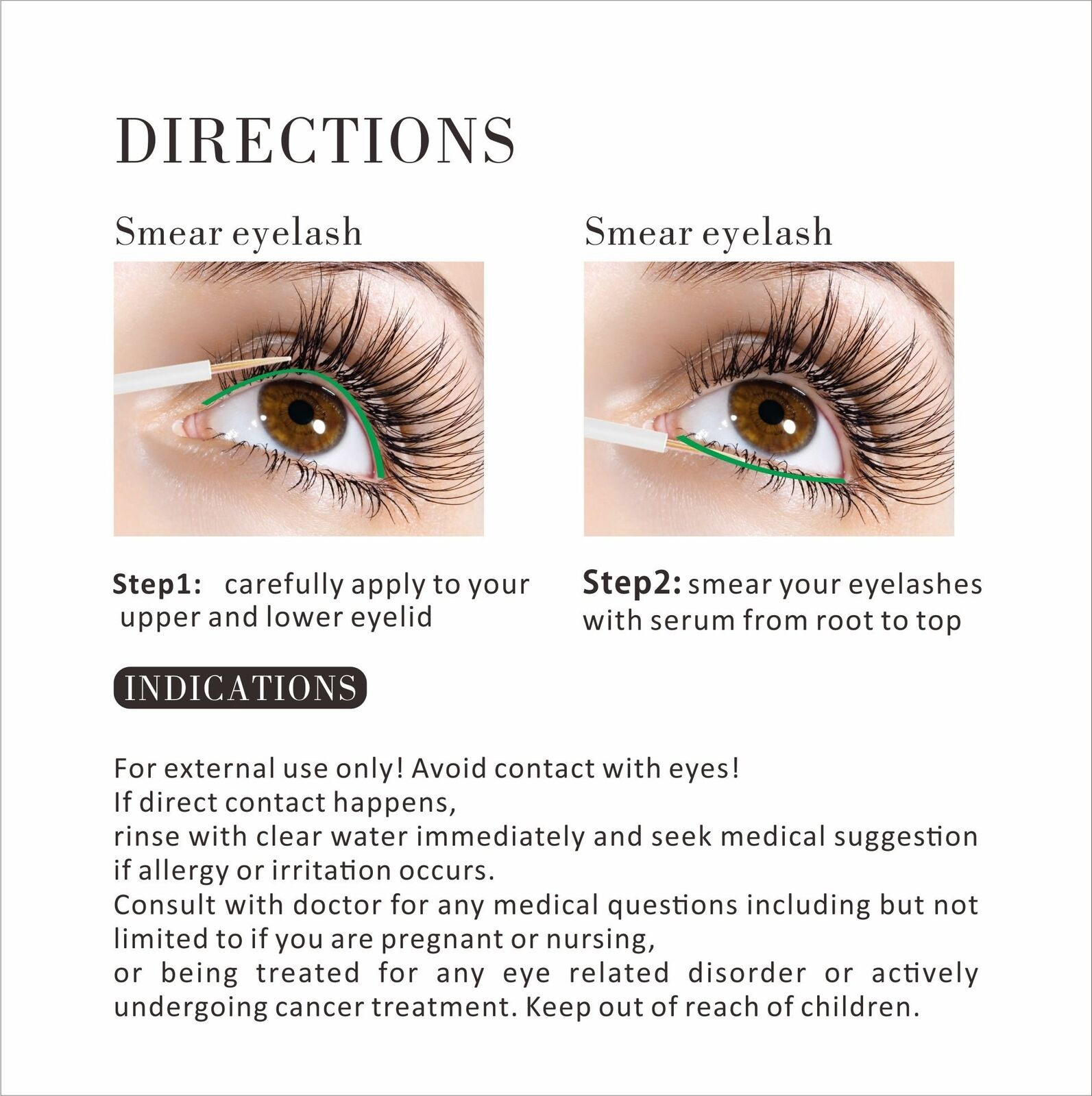 185be50aac9 Eyelash Growth Serum Enhancer for Lashes Gives You Thicker and ...