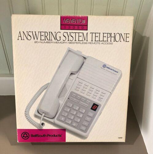 Vtg. Bell South Memento 1305D Telephone & Answering Machine System NIB 20#MEMORY