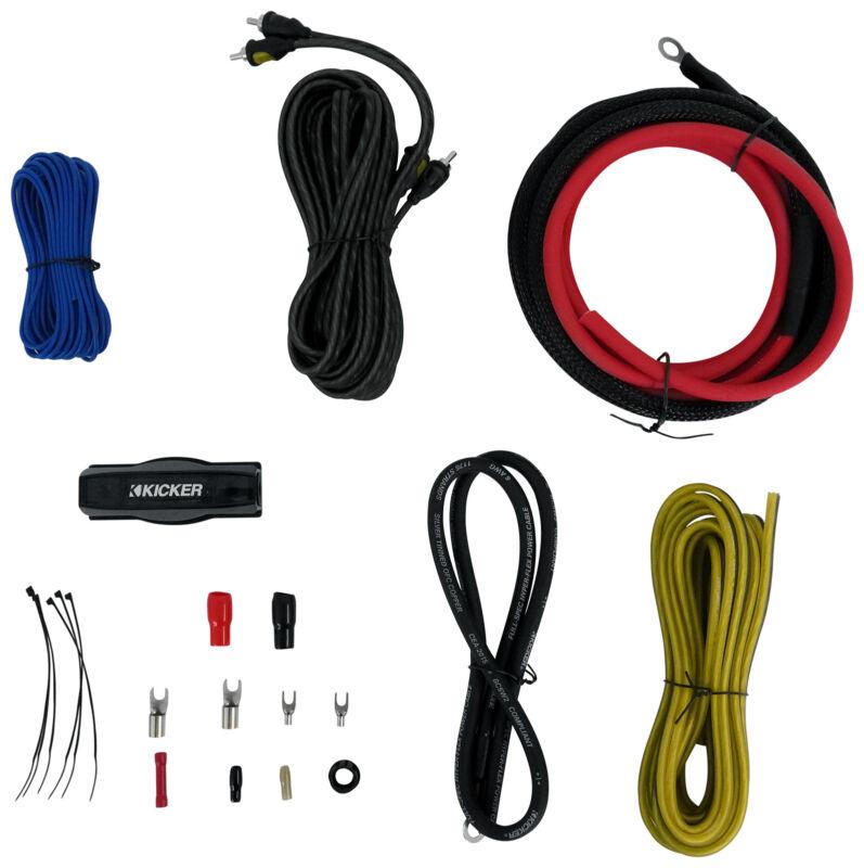 KICKER 47VK6 6AWG 6 Gauge 6 AWG Amplifier Amp Installation Wire Kit 6GA VK6