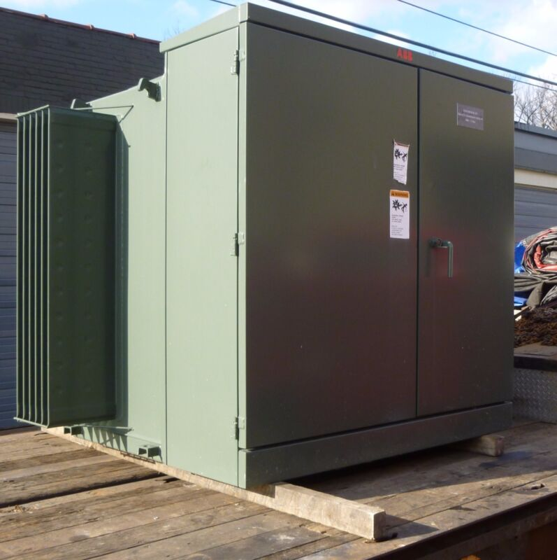 1500 KVA TRANSFORMER ABB TYPE 1LUJ 13800/480 VOLTAGE(2010) EXCELLENT CONDITION!!