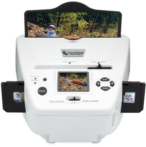 ClearClick 10 MP Photo, Slide, & Film Scanner w/ 4 GB SD Card & Photo Software