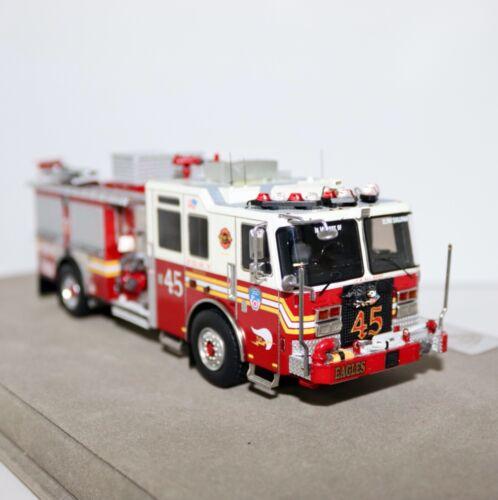FDNY Engine 45 Bronx KME Severe Service Custom Pumper Fire Replicas LE 220 1:50